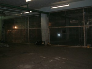 Large Warehouse Ceiling Enclosure